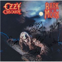 Ozzy Osbourne Band Signed Bark At The Moon Album