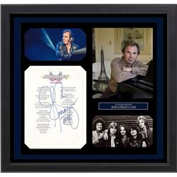 Journey Johnathan Cain Don't Stop Believeing Signed Lyrics