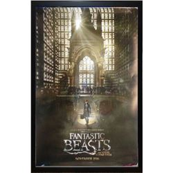 Fantastic Beasts - Signed Movie Poster