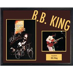 B.B. King Signed Tour Book