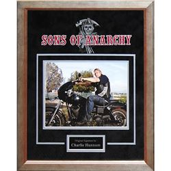 Sons of Anarchy Charlie Hunnam Signed Collage
