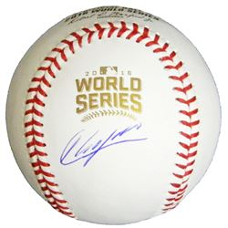 Aroldis Chapman Signed Rawlings Official 2016 World Series MLB Baseball