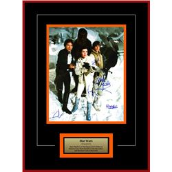 Chewbacca, Princess Leia, Luke Skywalker, Han Solo, Artist Series