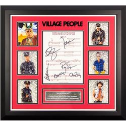 Village People Signed YMCA Lyrics