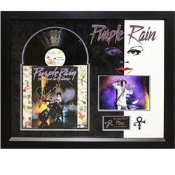 Prince Signed Purple Rain Album