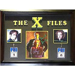 The X-Files Signed Photo Collage