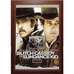 Butch Cassidy and The Sundance Kid  - Signed Movie Poster