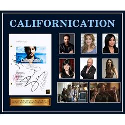 Californication - Signed Movie Script in Photo Collage Frame
