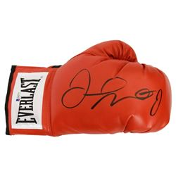 Floyd Mayweather Jr. Signed Everlast Red Boxing Glove (Beckett Holo)