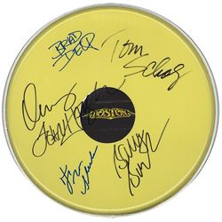 Boston Band Signed  Drum Head
