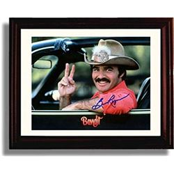 Burt Reynolds Signed and Framed Smokey & the Bandit Photo