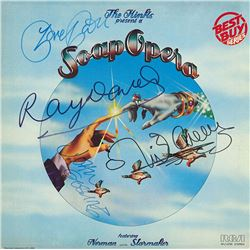 The Kinks Band Signed The Kinks Present A Soap Opera Album