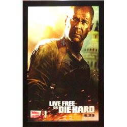 Live Free or Die Hard - Signed Movie Poster