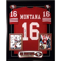 Joe Montana Signed 49ers Jersey