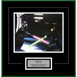 Luke Skywalker and Darth Vader Artist Series