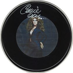Celine Dion Drum Head