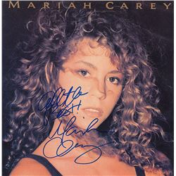 Mariah Carey Signed Mariah Carey Self Titled Album