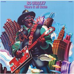 Bo Diddley Signed Where It All Began Album