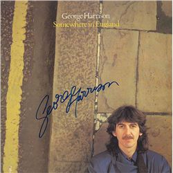George Harrison Signed Somewhere In England Album