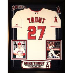Mike Trout Signed Jersey