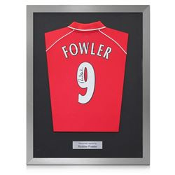 Robbie Fowler Signed Liverpool Soccer Jersey