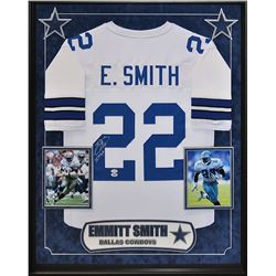 Emmitt Smith Signed Cowboys Jersey