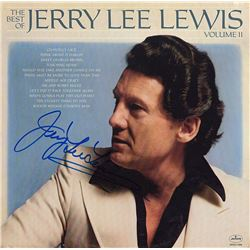 Jerry Lee Lewis Signed The Best Of Jerry Lee Lewis Album
