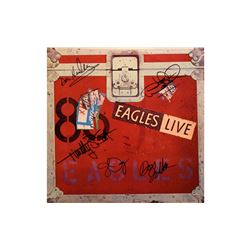 The Eagles Signed Live - 1980 Album