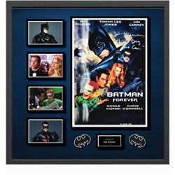 Batman Forever Signed Photo Collage