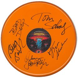 Boston Self-Titled Signed Drum Head