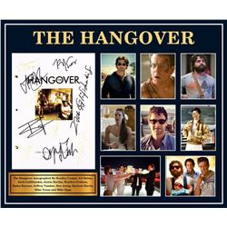 The Hangover Cast Signed Script