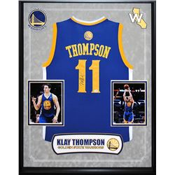 Klay Thompson Signed Warriors Jers