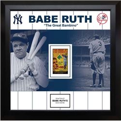 Babe Ruth   The Great Bambino   Game Used Bat Fragment