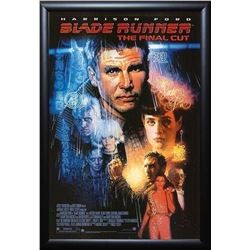 Blade Runner The Final Cut - Signed Movie Poster