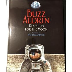Buzz Aldrin Signed Reaching for the Moon Book
