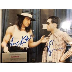 DeNiro and Keitel Signed Taxi Driver Photo