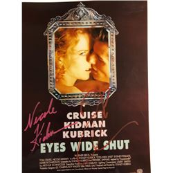 Eyes Wide Shut Signed 11x14 Poster