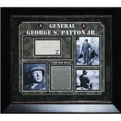 General George S. Patton Jr. Framed Signature Collage