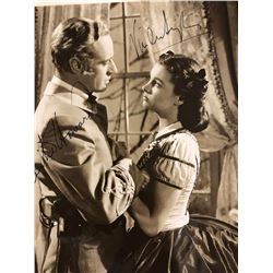 Howard & Leigh Signed Gone With the Wind Photo