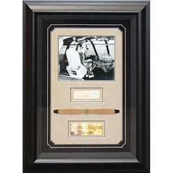 Howard Hughes Framed Signature Collage