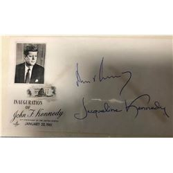 John F. and Jacqueline Kennedy Signed Inaugural Invitation Envelope