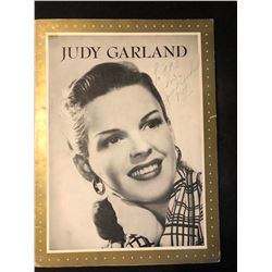Judy Garland Signed Promo Book