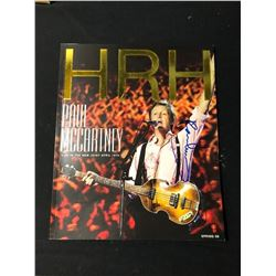 Paul McCartney Signed Hey Magazine