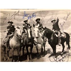 Rat Pack Signed Western Photo