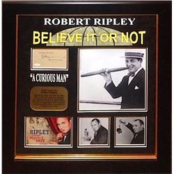 "Robert Ripley ""Believe It Or Not"" Signature Collage"