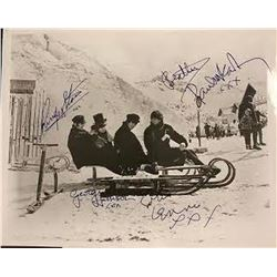 The Beatles Signed Winter Photo