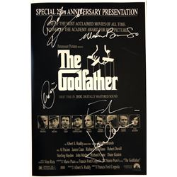 The Godfather 25th Anniversary Cast Signed Mini Poster