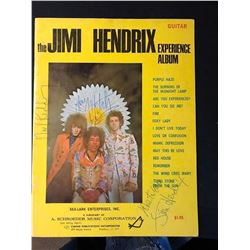 The Jimi Hendrix Experience Signed Music Book