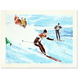 Olympic Skier by Nelson, William