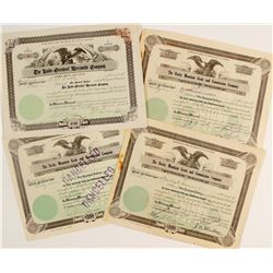Rocky Mountain Grain & Commission Co. Stock Certificates Plus One Other CO Stock  (60011)